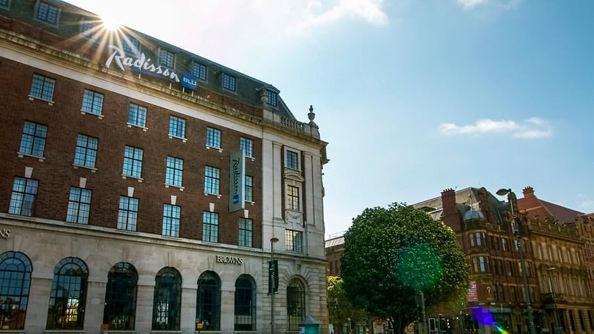Ryddig Leeds Hotels | Radisson Blu Hotel, Leeds City Centre ZR-41