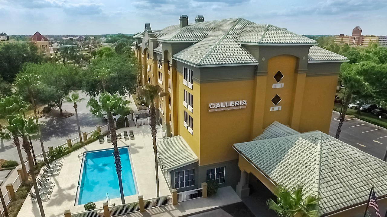 kissimmee hotel orlando galleria palms hotel fl