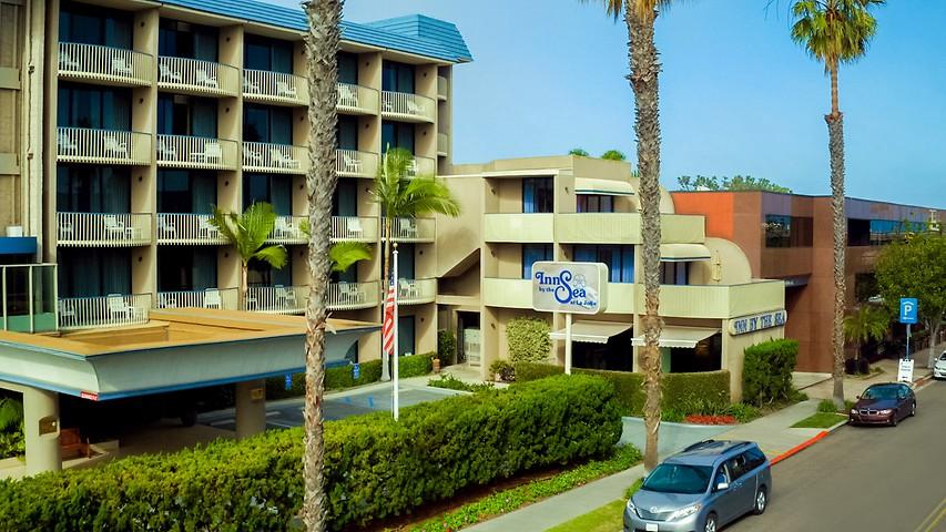 Beautiful Seaside La Jolla Hotel Inn By The Sea At La Jolla