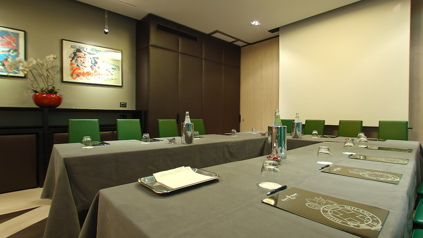 Meeting rooms in milan manin hotel milan business centre for Hotel manin milano