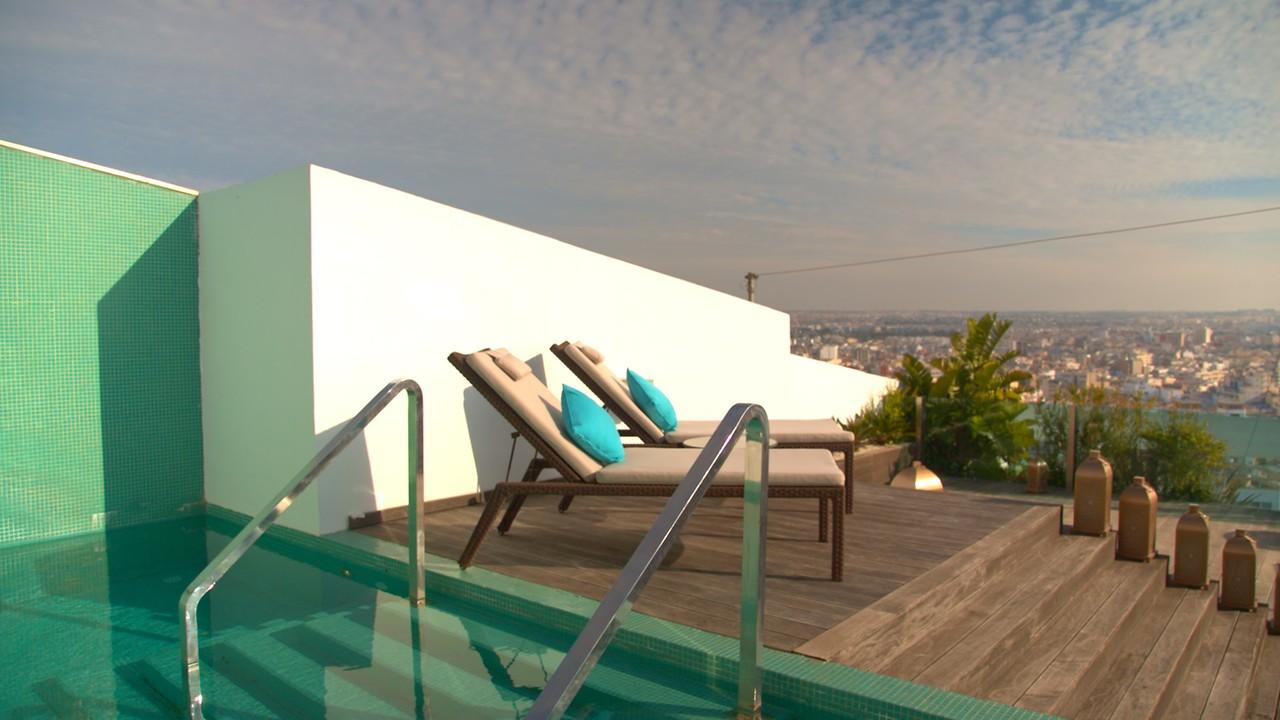 Luxury hotel CASABLANCA – Sofitel Casablanca Tour Blanche