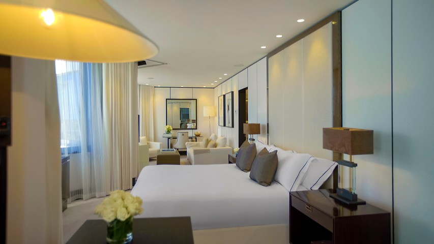 Infinity Suite Accommodations At Crown Metropol Perth