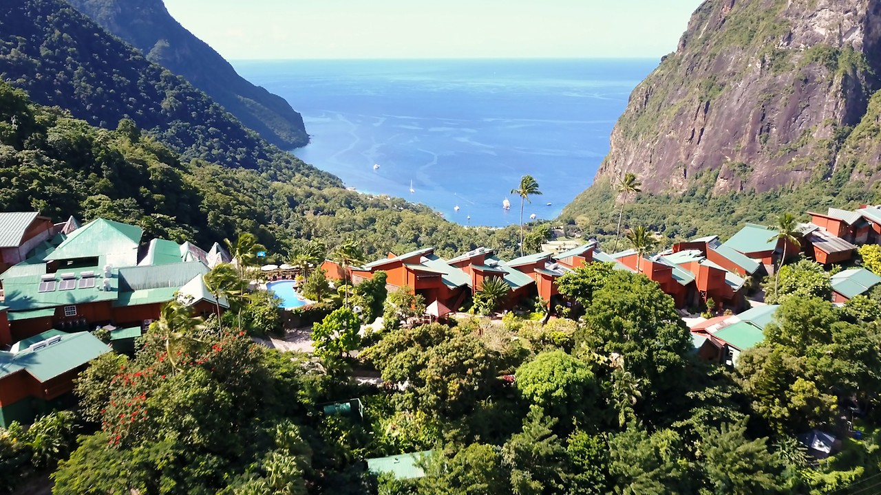 ladera resort - st. lucia resorts