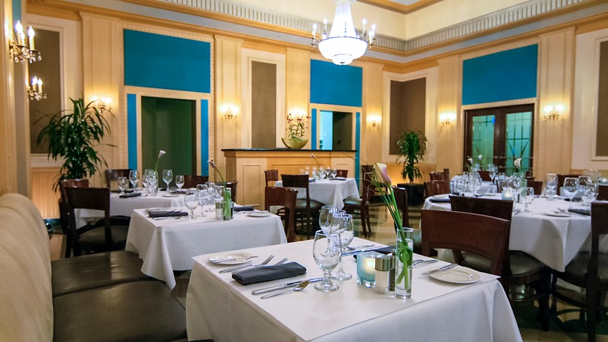 ambassador dining room.  Envoy Milwaukee Ambassador Hotel WI