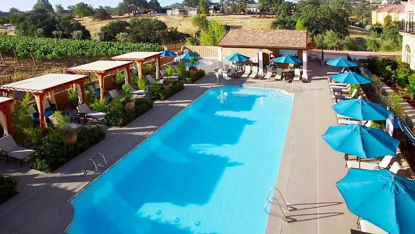 Paso Robles Ca Luxury Hotel Allegretto Vineyard Resort