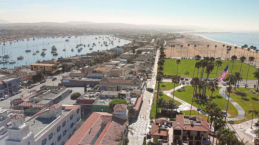 Balboa Hotel In Newport Beach California