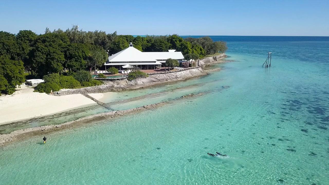 Great Barrier Reef Karte.Heron Island Resort Heron Island Accommodation